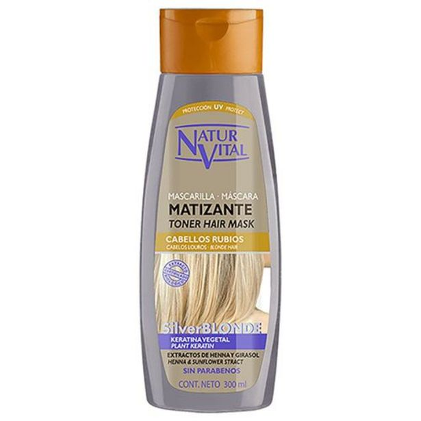 Oferta de Mascarilla Naturaleza y Vida Silver blonde por 8,36€