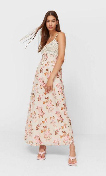 Oferta de Vestido largo combinado por 49,99€