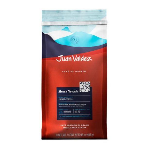 Oferta de Café Sierra Nevada Grano 454g Juan Valdez por 31500€