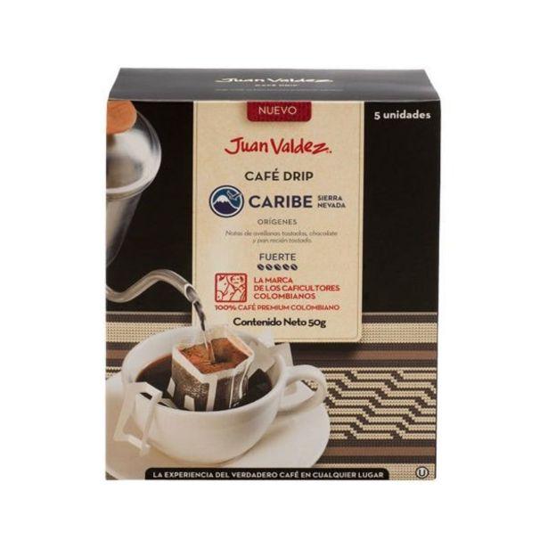 Oferta de Café Drips Caribe Sierra Nevada caja x5 Juan Valdez por 8000€